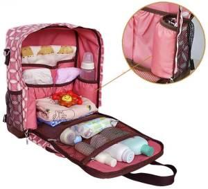 сумка для детских вещей в дорогу